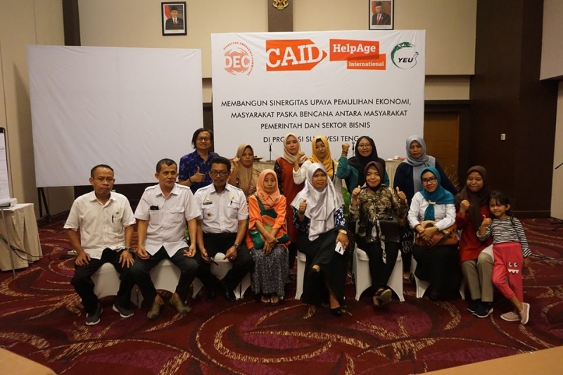 Building Synergy in the Economic Recovery Efforts of Post-Disaster Communities in Central Sulawesi Province