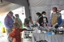 Kegiatan tim medis Indonesia di Nepal