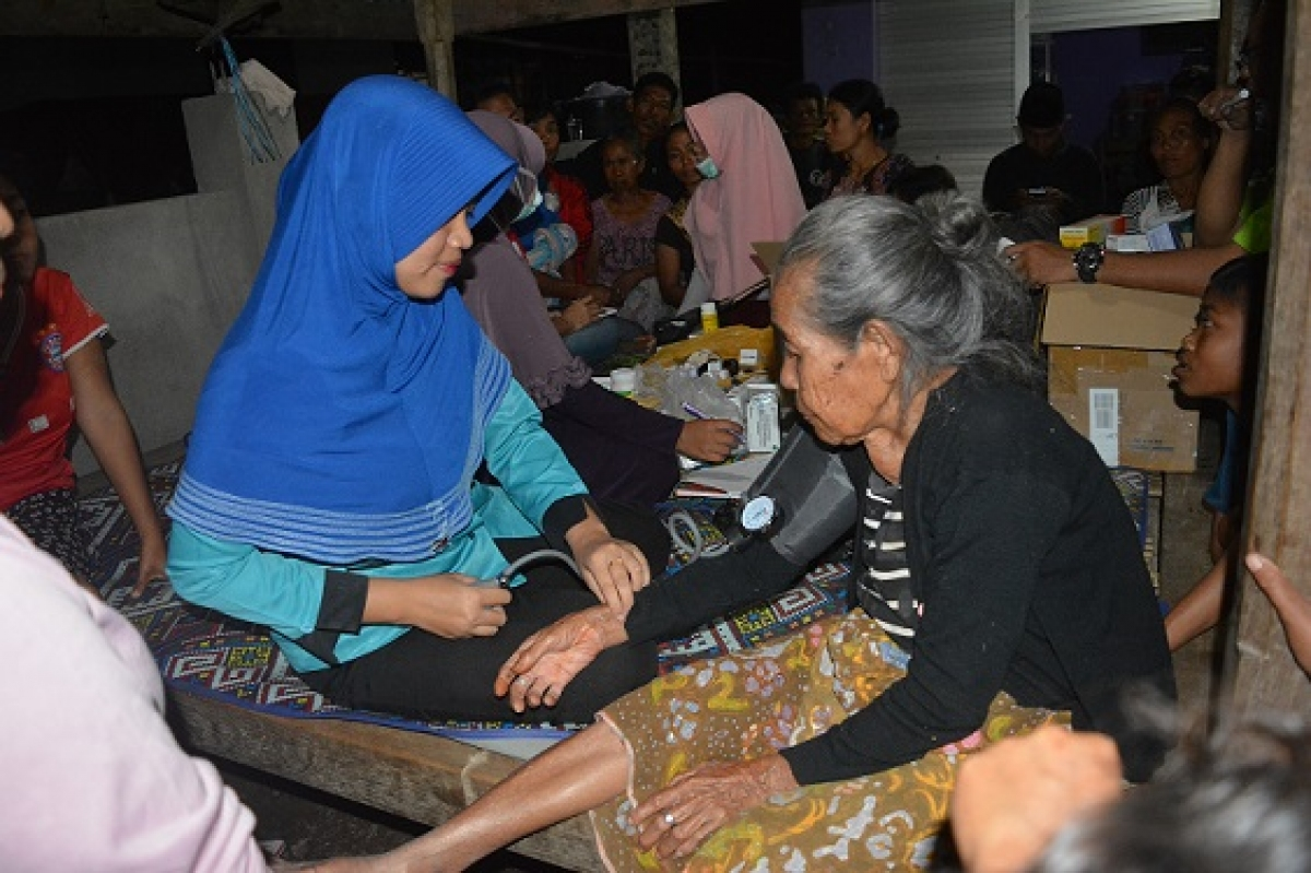 Lesson Learnt from Lombok: Distribution of the Humanitarian Assistance