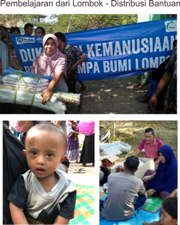 Lesson Learnt from Lombok : Aid Distribution