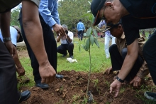 Launching of Conservation Program for Seasonal Lake in Temon sub-village in Giripurwo village